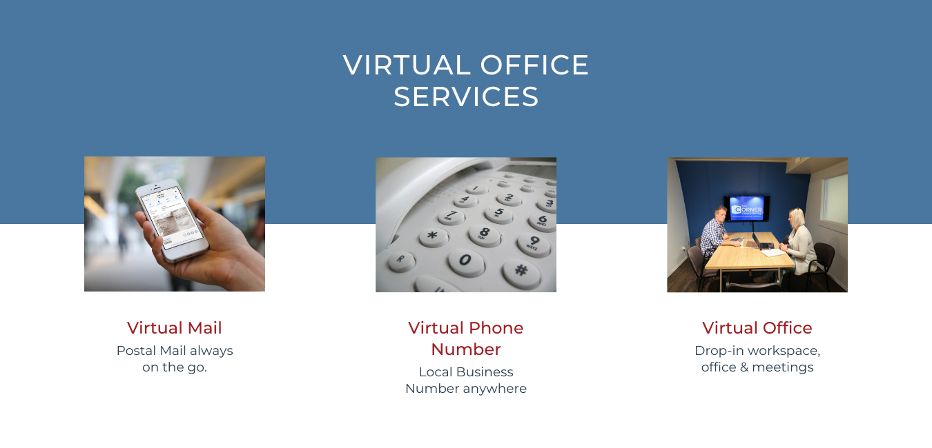 virtual office banner