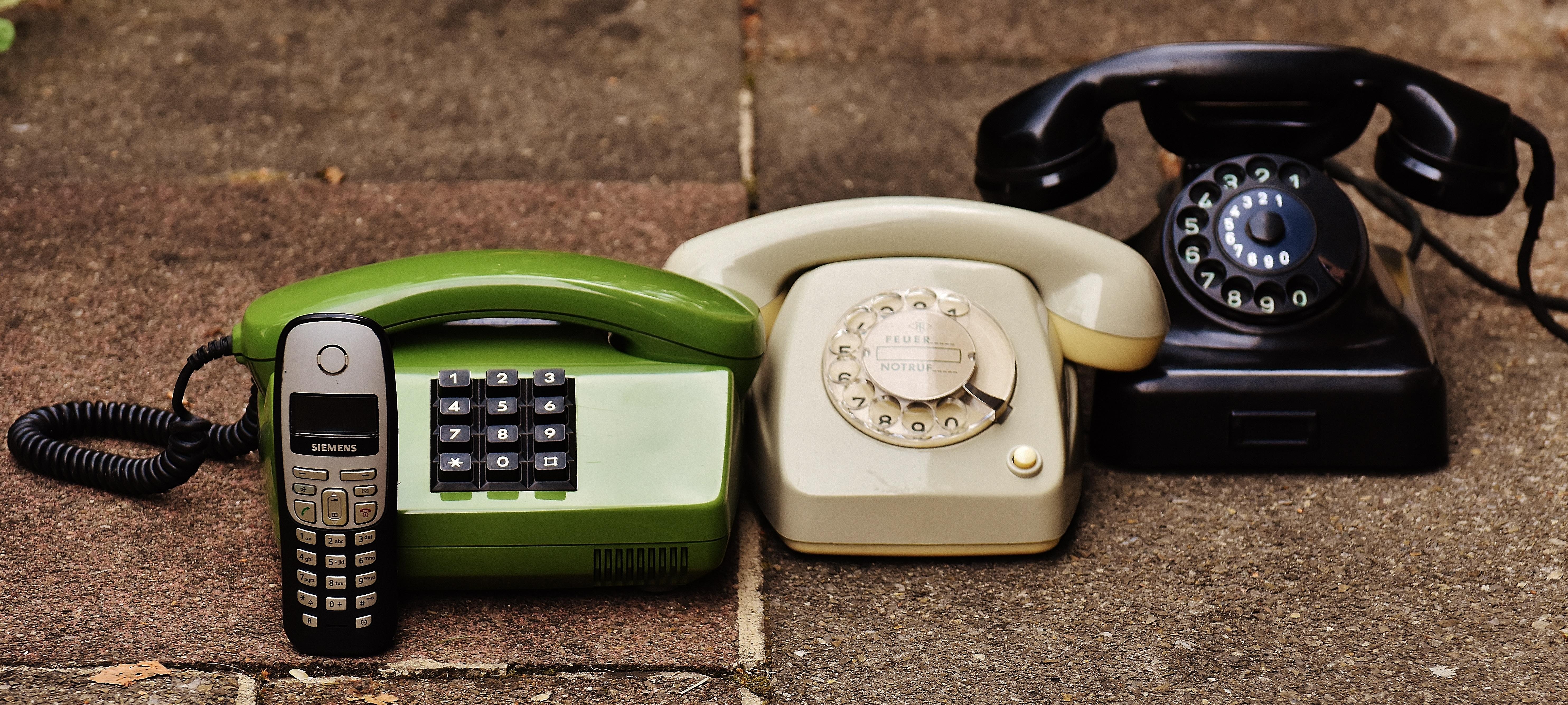 old school phones